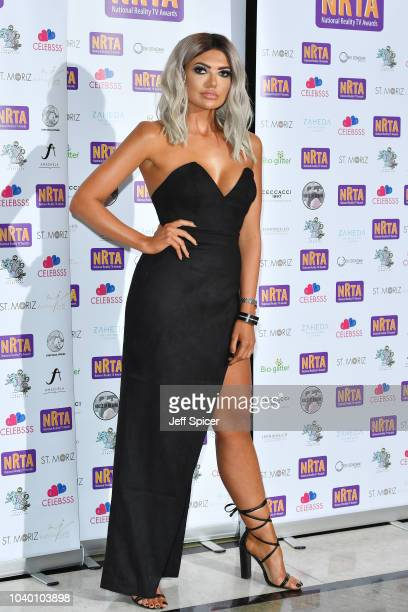Abbie Holborn attends the National Reality TV Awards held at Porchester Hall on September 25 2018 in London England