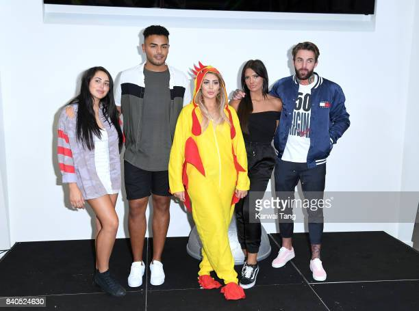 Abbie Holborn Nathan Hnery Marnie Simpson Aaron Chalmers and Chloe Ferry attend the 'Geordie Shore Land of Hope and Geordie' series 15 Launch at the...