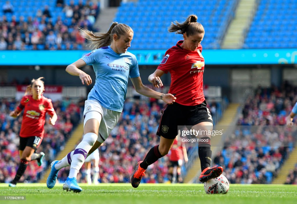 Manchester City v Manchester United - Barclays FA Women's Super League : News Photo