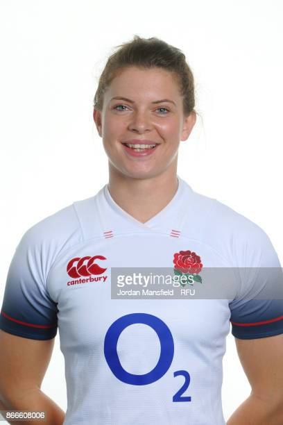 Abbie Scott of England poses for a portrait at Bisham Abbey on October 15 2017 in Marlow England