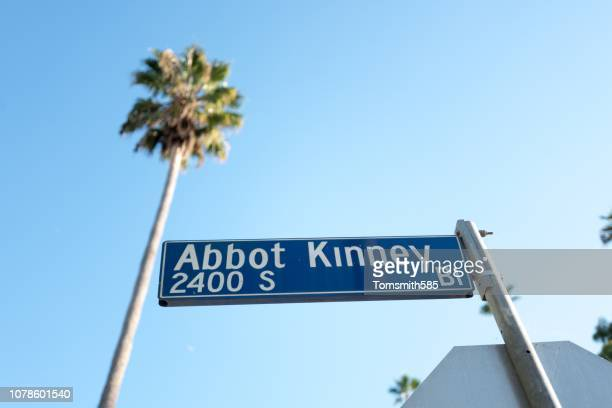 abbot kinney - boulevard stock pictures, royalty-free photos & images
