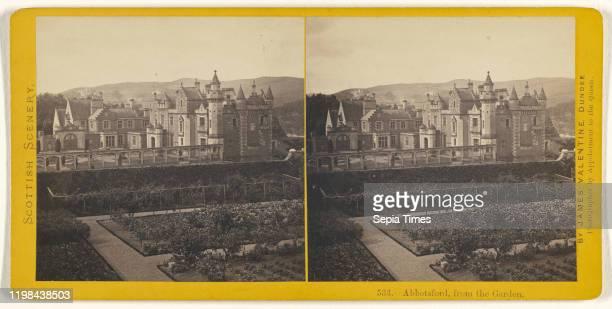 Abbotsford from the Garden James Valentine 1870s Albumen silver print