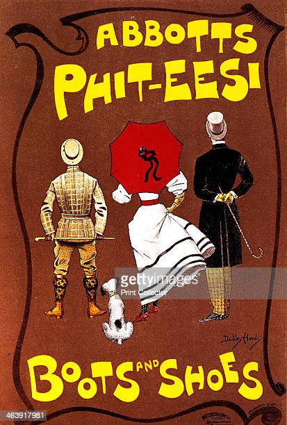 'Abbotts PhitEesi Boots and Shoes' c18871922 Reproduced in 'Les Maitres de l'Affiche' private collection