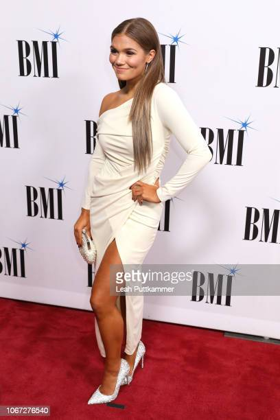 Abby Anderson attends the 66th Annual BMI Country Awards at BMI on November 13 2018 in Nashville Tennessee