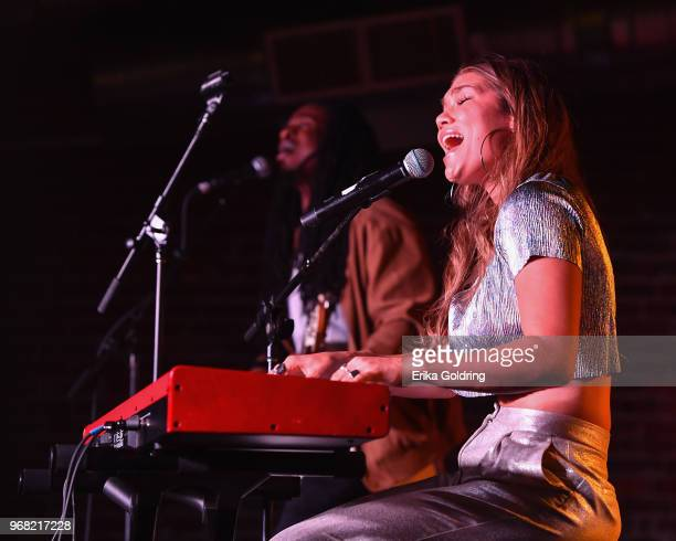 Abby Anderson performs at Cannery Ballroom on June 5 2018 in Nashville Tennessee