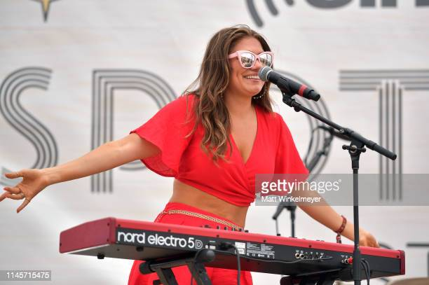 Abby Anderson performs onstage during the 2019 Stagecoach Festival at Empire Polo Field on April 28 2019 in Indio California
