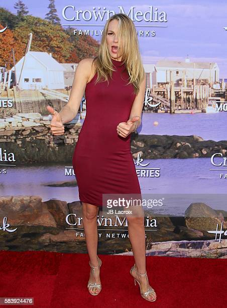 Abby Brammell attends the Hallmark Channel and Hallmark Movies and Mysteries Summer 2016 TCA press tour event on July 27 2016 in Beverly Hills...