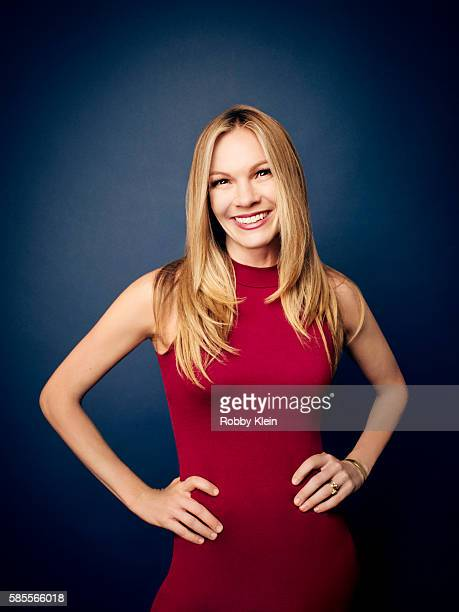 Abby Brammell is photographed at the Hallmark Channel Summer 2016 TCA's on July 27 2016 in Los Angeles California