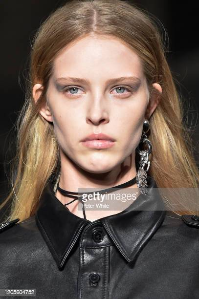 Abby Champion walks the runway at the Zadig & Voltaire Ready to Wear Fall/Winter 2020-2021 fashion show during New York Fashion Week on February 09,...