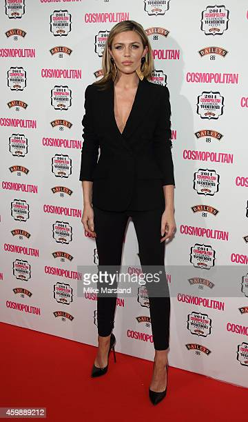 Abby Clancie attends the Cosmopolitan Ultimate Women of the Year Awards at One Mayfair on December 3, 2014 in London, England.
