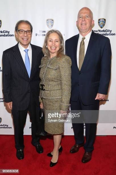 Abby Crisses Andrew Crisses and James O'Neill attend the New York City Police Foundation 2018 Gala on May 17 2018 in New York City