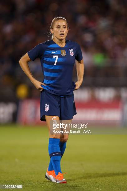 Abby Dahlkemper of United States of America during the Tournament of Nations match between Australia and United States of America at Pratt Whitney...