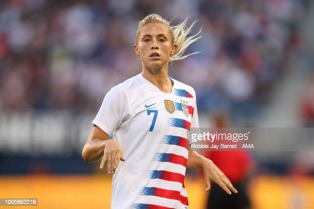 Abby Dahlkemper United States of America during the 2018 Tournament Of Nations women's match between Japan v United States of America at Children's...