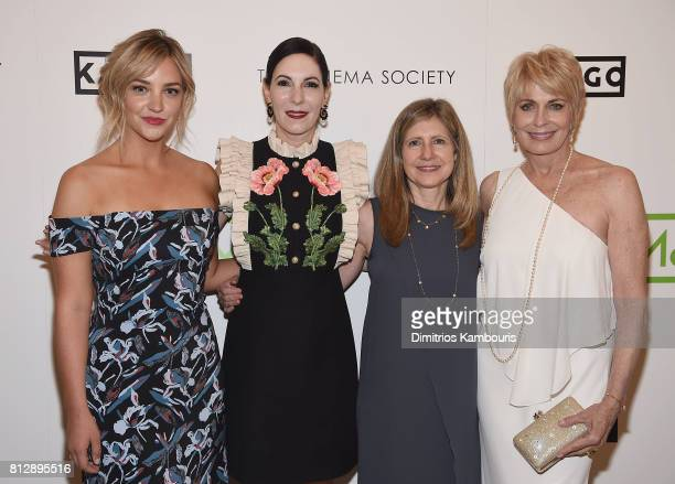 Abby Elliot Jill Kargman Frances Berwick and Joanna Cassidy attends The Cinema Society Hosts The Season 3 Premiere Of Bravo's Odd Mom Out at the...