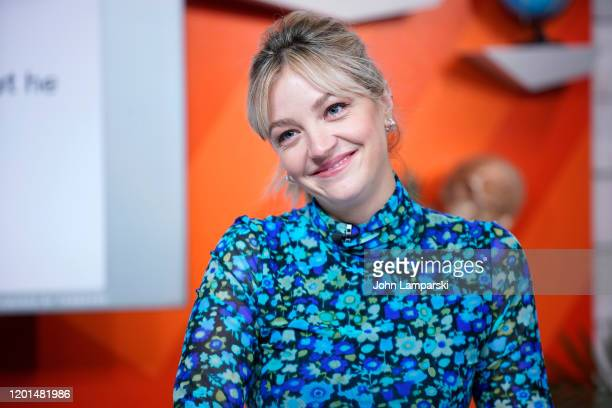 Abby Elliot visits BuzzFeed's AM To DM on January 23 2020 in New York City