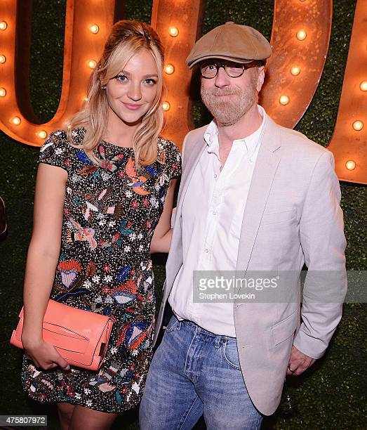 Abby Elliott and Chris Elliott attend the after party for Bravo's screening of Odd Mom Out at Casa Lever on June 3 2015 in New York City