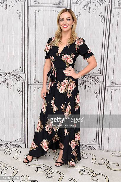 Abby Elliott attends AOL Build Presents 'Odd Mom Out' at AOL Studios in New York on June 20 2016 in New York City