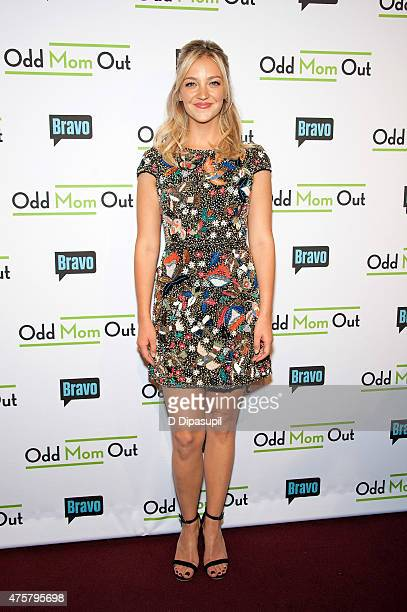 Abby Elliott attends Bravo Presents a Special Screening of 'Odd Mom Out' at Florence Gould Hall on June 3 2015 in New York City