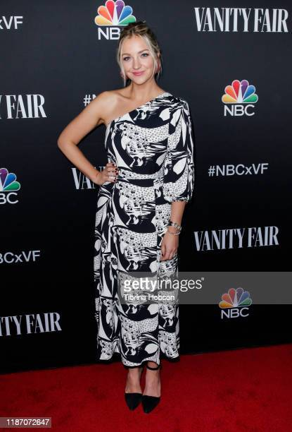 Abby Elliott attends NBC and Vanity Fair's celebration of the season at The Henry on November 11 2019 in Los Angeles California