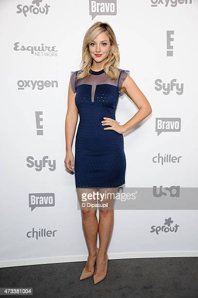 Abby Elliott attends the 2015 NBCUniversal Cable Entertainment Upfront at The Jacob K Javits Convention Center on May 14 2015 in New York City