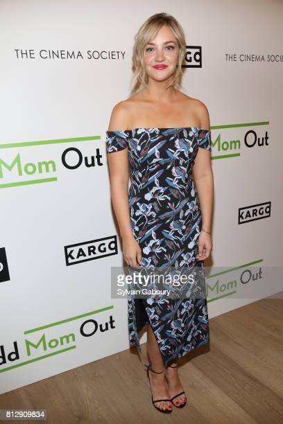 Abby Elliott attends The Cinema Society Kargo host the Season 3 Premiere of Bravo's 'Odd Mom Out' on July 11 2017 in New York City