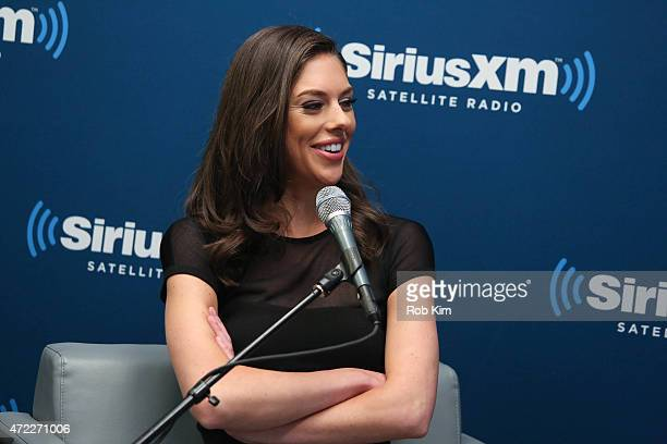 Abby Huntsman attends a special edition of SiriusXM's No Labels Radio airing on SiriusXM POTUS at SiriusXM Studios on May 5 2015 in New York City