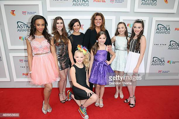 Abby Lee Miller and the cast from Dance Moms arrives at the 2015 ASTRA Awards at the Star on March 12 2015 in Sydney Australia