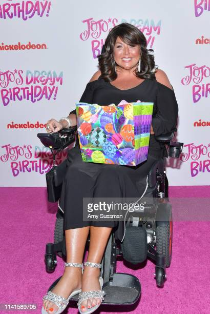 Abby Lee Miller attends JoJo Siwa's Sweet 16 Birthday celebration at W Hollywood on April 09 2019 in Hollywood California