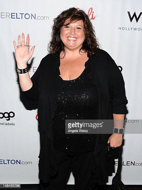 Abby Lee Miller attends Logo's AfterEllen AfterElton Inaugural Hot 100 Party at Station Hollywood at W Hollywood Hotel on July 16 2012 in Hollywood...