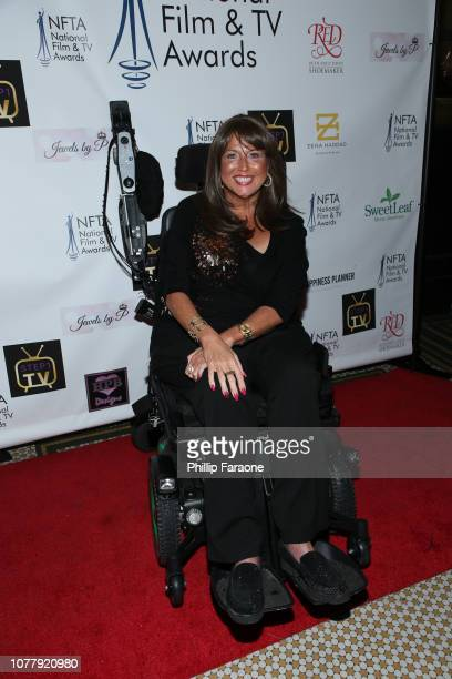 Abby Lee Miller attends the National Film and Television Awards Ceremony at Globe Theatre on December 05 2018 in Los Angeles California