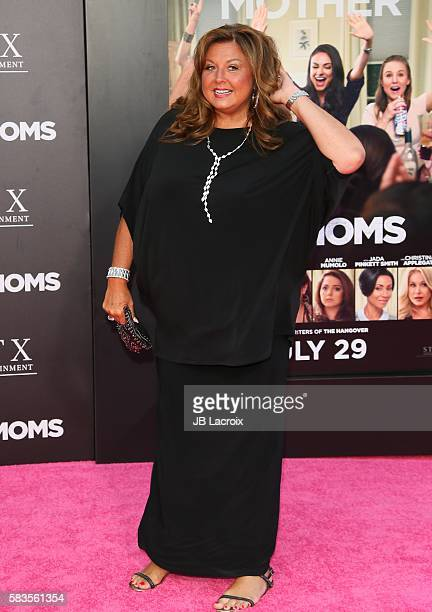 Abby Lee Miller attends the premiere of STX Entertainment's 'Bad Moms' on July 26 2016 in Westwood California