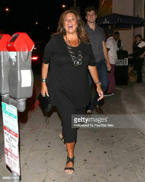 Abby Lee Miller is seen on June 15 2017 in Los Angeles CA