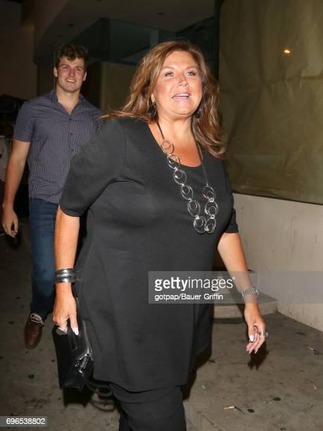 Abby Lee Miller is seen on June 15 2017 in Los Angeles California