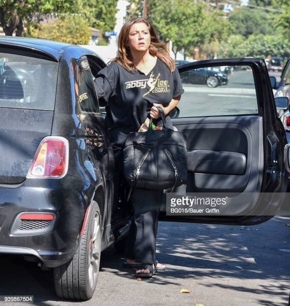 Abby Lee Miller is seen on March 29 2018 in Los Angeles California