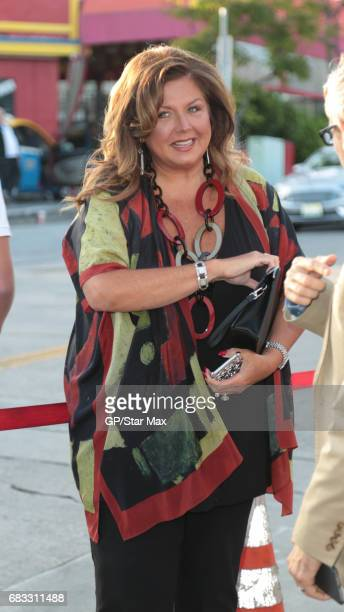 Abby Lee Miller is seen on May 14 2017 in Los Angeles CA