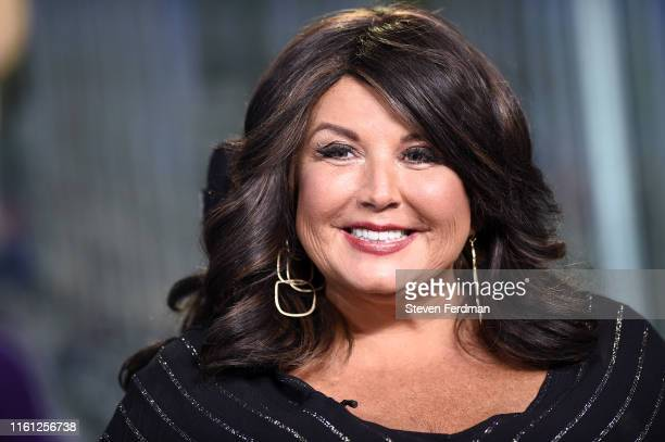 Abby Lee Miller visits the set of 'The Claman Countdown' at Fox Business Network Studios on July 10 2019 in New York City
