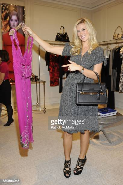 Abby Manning attends Dior and Saks Fifth Avenue Cruise Collection Tea Benefiting Citymeals-on-Wheels at Saks Fifth Avenue on October 27, 2009 in New...