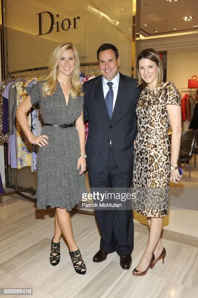 Abby Manning Steve Sadove and Lizzie Tisch attend Dior and Saks Fifth Avenue Cruise Collection Tea Benefiting CitymealsonWheels at Saks Fifth Avenue...