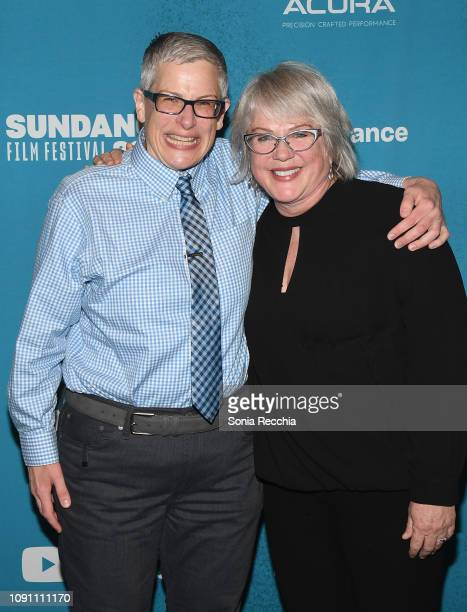 Abby McEnany and Julia Sweeney attend the Indie Episodic Program 2 during the 2019 Sundance Film Festival at Prospector Square Theatre on January 29...