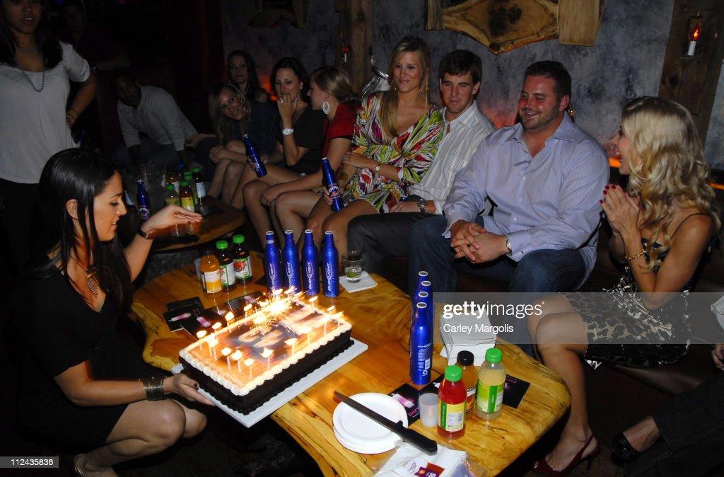 Retreat Lounge Hosts NY Giants' Shaun O'Hara's Surprise 30th Birthday Party : News Photo