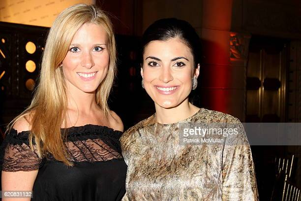 Abby McGrew and Ashley Atiyeh attend March of Dimes 33rd Annual Beauty Ball at Cipriani 42nd Street on March 12, 2008 in New York City.