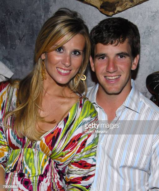 Abby McGrew and Eli Manning