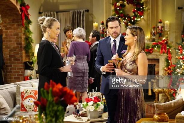 Abby Nick and Chelsea Newman are all dressed up to celebrate Victor and Nikki's vow renewal on New Year's Eve Don't miss the excitement of Victor and...