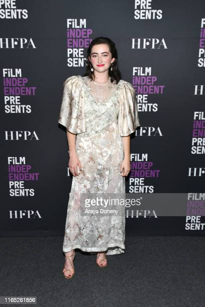 """Abby Quinn at Film Independent presents """"After The Wedding"""" at The Landmark on July 30, 2019 in Los Angeles, California."""