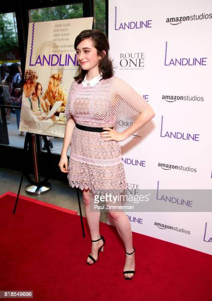Abby Quinn attends 'Landline' New York premiere at The Metrograph on July 18 2017 in New York City