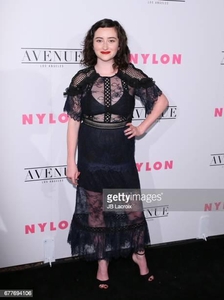 Abby Quinn attends the NYLON Young Hollywood Party at AVENUE Los Angeles on May 2 2017 in Los Angeles California
