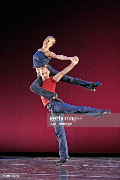Abby Silva and Brian McGinnis in David Parsons's DMB Photo by Julie Lemberger/Corbis via Getty Images