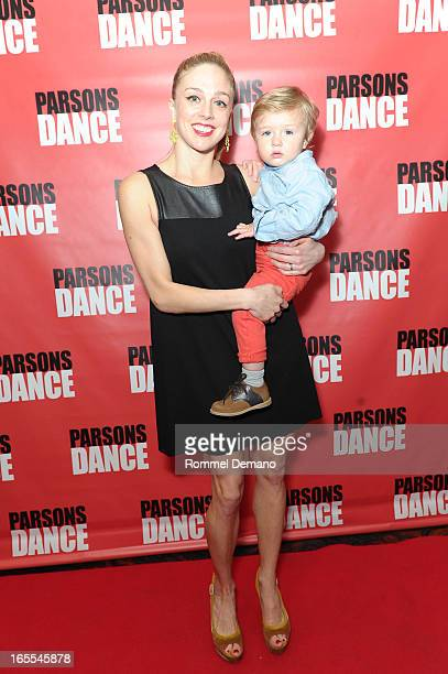Abby SIlva Gavezzoli and Marcelo Gavezzoli attend the 2013 Parsons Dance Spring Gala at Mandarin Oriental Hotel on April 4 2013 in New York City