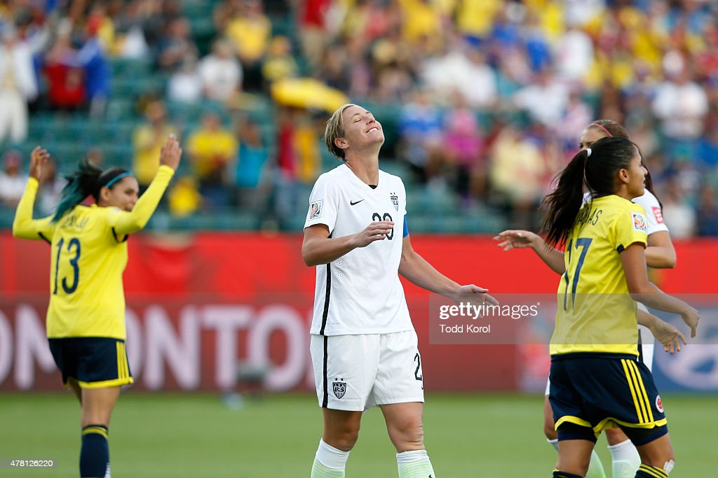United States v Colombia: Round of 16 - FIFA Women's World Cup 2015
