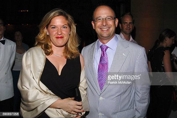 Abby Weisman and Joshua David attend Friends of the High Line 5th Annual Summer Benefit at Cipriani Wall Street on July 13 2005 in New York City